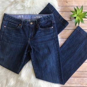 GAP 1969 Long and Lean Dark Trouser Jeans 29/8L